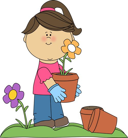 Science clipart kid plant #6