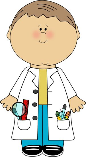 Artistic clipart kid artist Boy Scientist images and Art