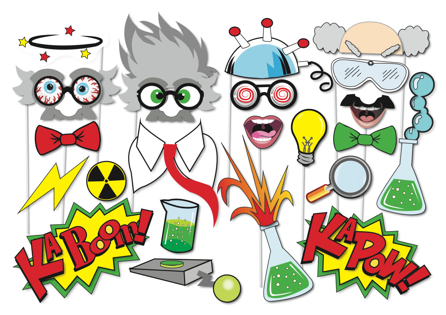 Scientist clipart little scientist Piece Etsy Party Little Halloween