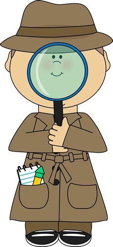 Desk clipart inspector Science WorkDetective Best Tutor ClipartSchool
