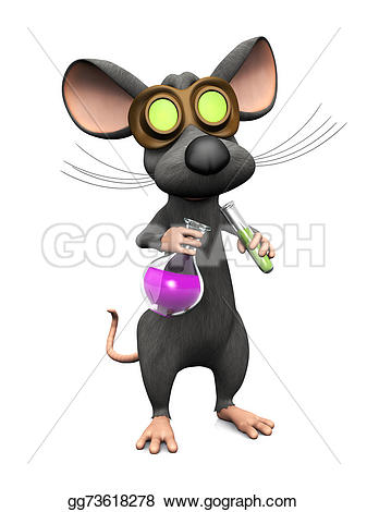 Science clipart mouse #12