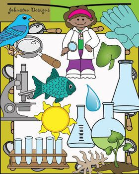 Nature clipart scientist #1