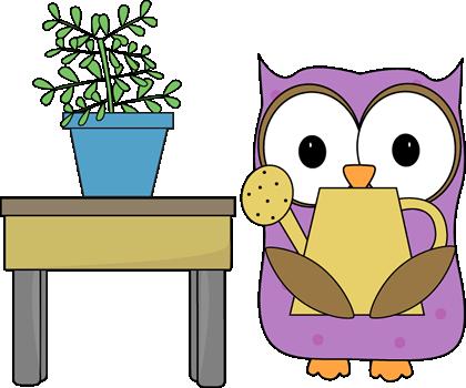 Owl clipart helper Clip Job Owl Art Plant