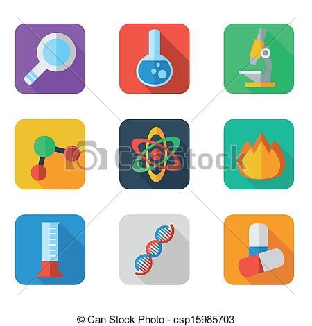 Scientist clipart icon #2