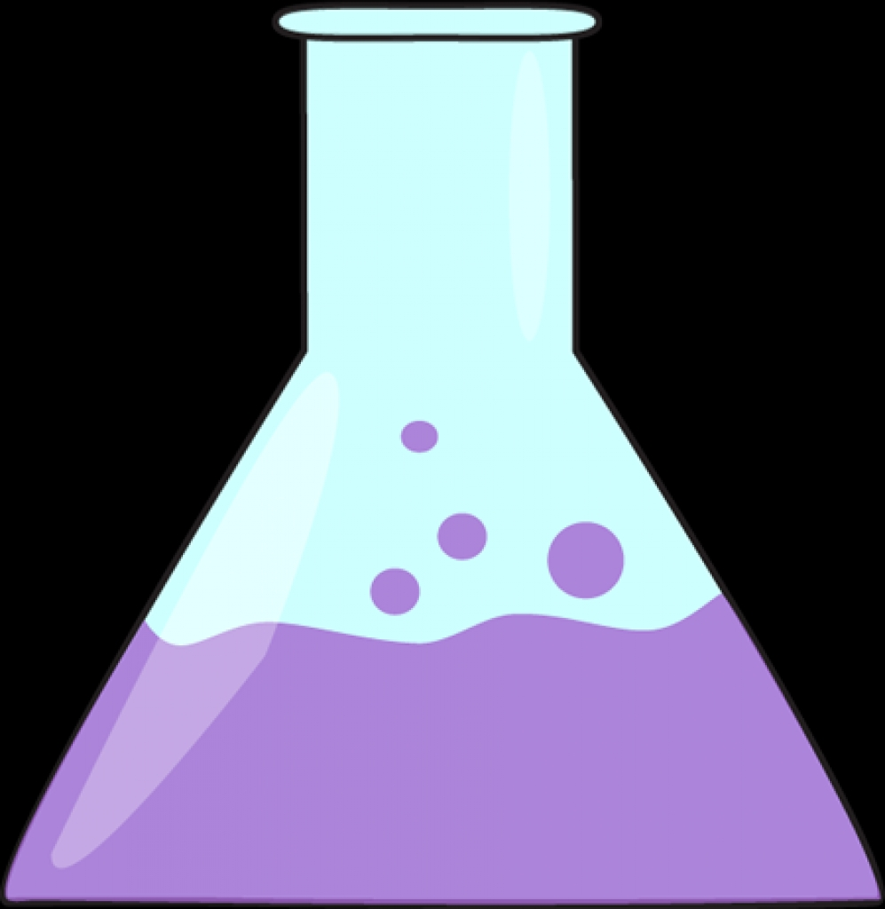 Science clipart purple #7