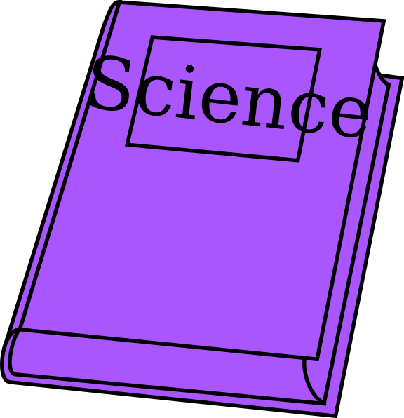 Science clipart purple #4