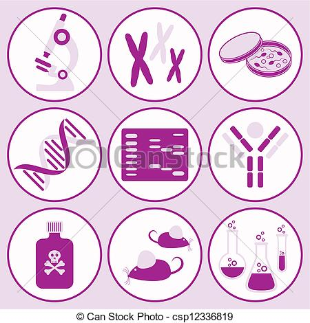 Science clipart purple #10