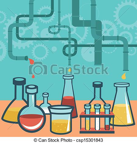 Science clipart research design Science research and science concept