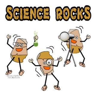 Science clipart rock Beaker Zazzle Science Statuettes Cutout