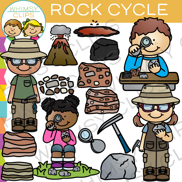 Rock clipart rock cycle #3