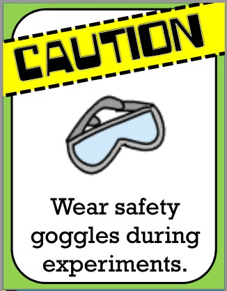 Science clipart safety goggles They during goggles  eyes