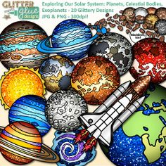Science clipart science education Art #science Science Exoplanet Celestial