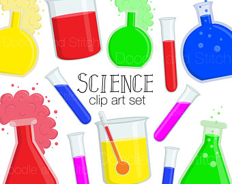 Crystal clipart science Science Set Etsy Experiment Scientific