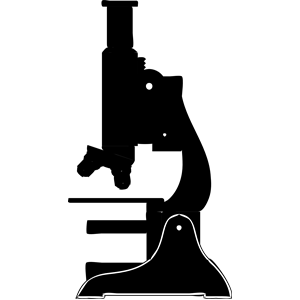 Science clipart silhouette #7