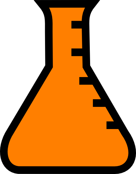 Science clipart silhouette #8