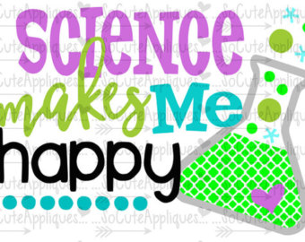 Science clipart silhouette #9