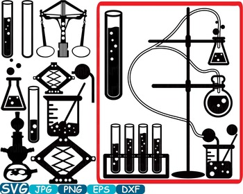 Science clipart silhouette #6