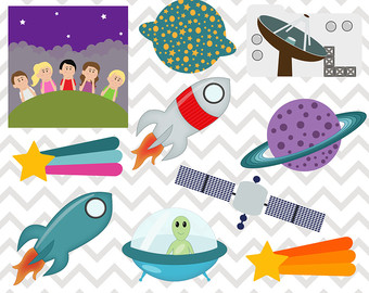 Galaxy clipart elementary science #9