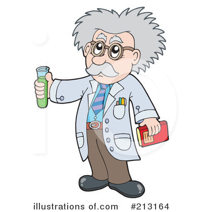 Scientist clipart monkey Royalty #213164 visekart (RF) Scientist