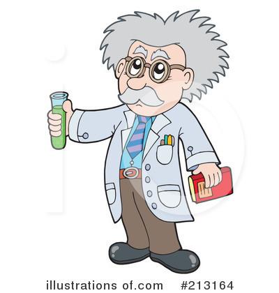 Scientist clipart Illustration Illustration Free #213164 (RF)