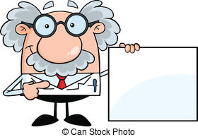 Scientist clipart monkey  and Scientist Professor Showing