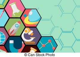 Science clipart all about Background Search Vector Flat csp17461254