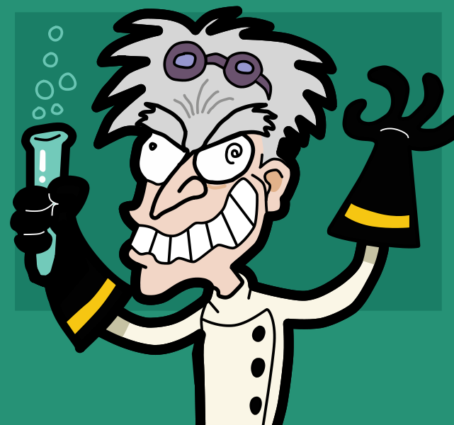 Scientist clipart creepy Creepy  Somebody the or