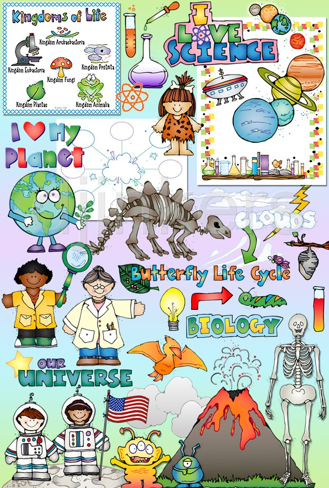 Science clipart science education Cycle Science clip space life