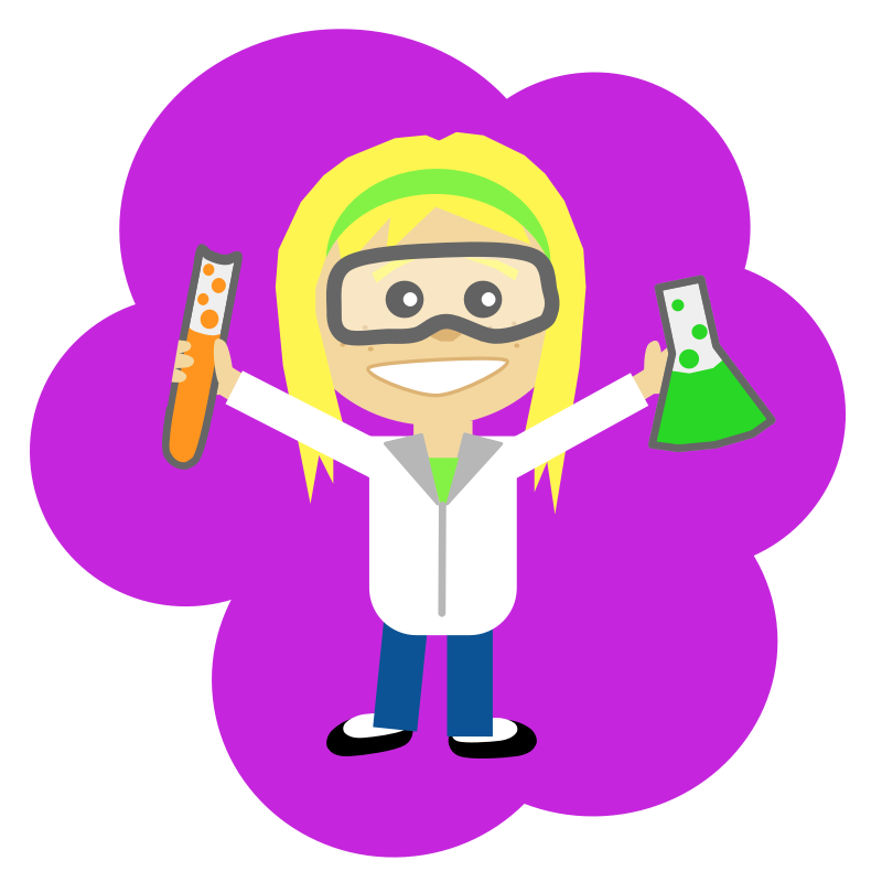 Scientist clipart female scientist #10
