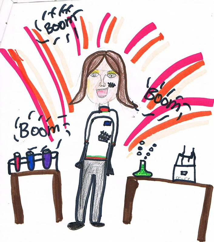 Scientist clipart gifted child #7