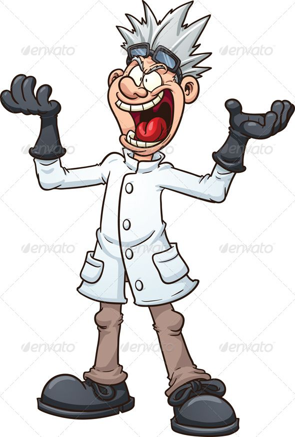 Woman clipart mad scientist #11