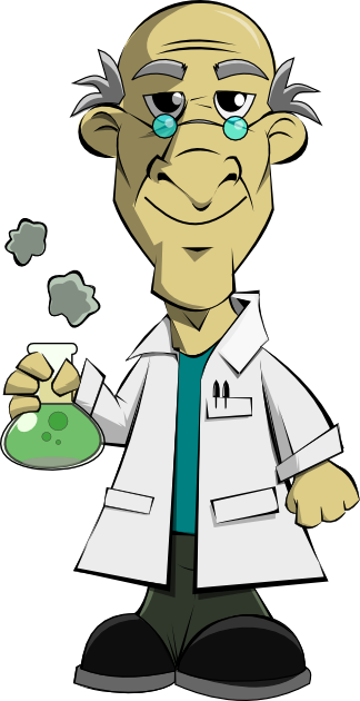 Scientist clipart mad scientist #13