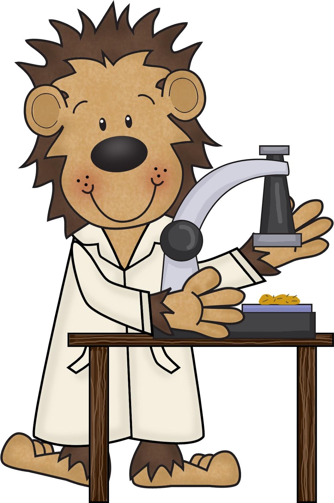 Scientist clipart monkey #1