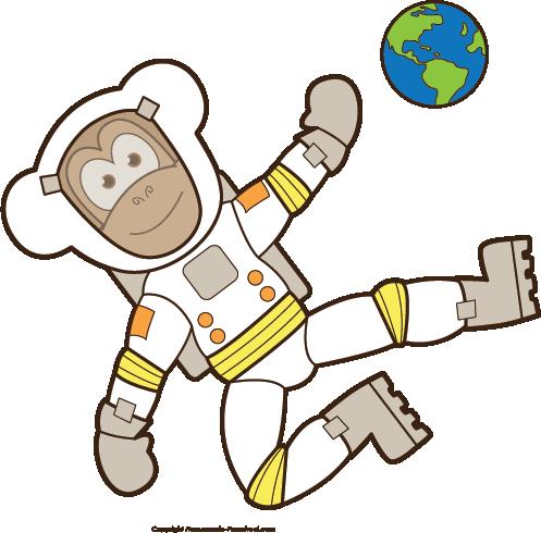 Scientist clipart monkey #2
