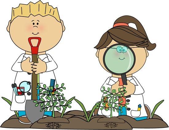 Scientist clipart nature #8