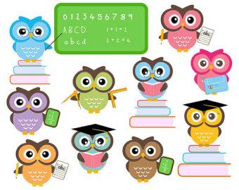 Coture clipart education Clip Image scientist owl clip