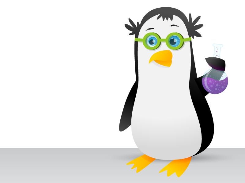 Scientist clipart penguin #12