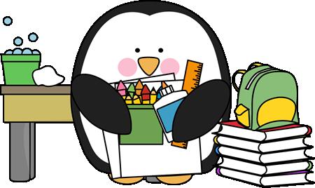 Scientist clipart penguin #1