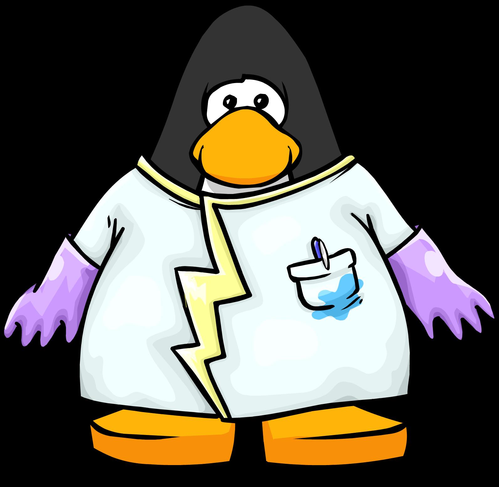 Scientist clipart penguin #8