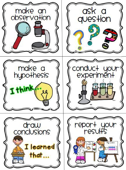 Choice clipart science conclusion The ideas giving kindergarten you