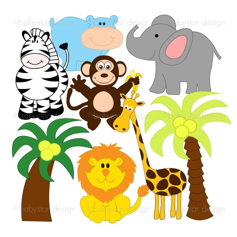 Zoo clipart forest animal Images Jungle Clipart Free Panda