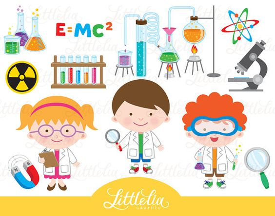 Scientist clipart science fair  GET Clipart and 15044