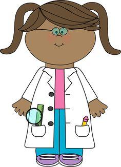 Scientist clipart science fair Parent girls of com www