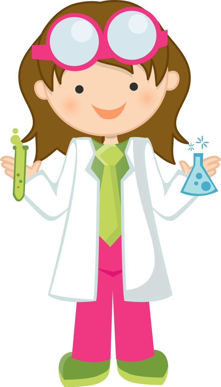 Bio clipart female scientist Images Clip Art Pinterest 36