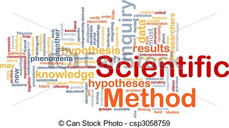 Scientist clipart science procedure Csp3058759 Scientific concept background of
