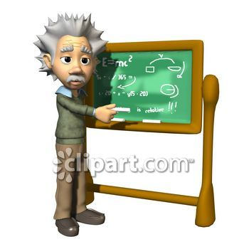 Scientist clipart smart person Aged education teacher Caucasian School
