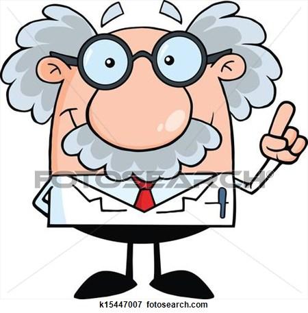 Scientist clipart smart person Clipart Art Scientist Free Clipart