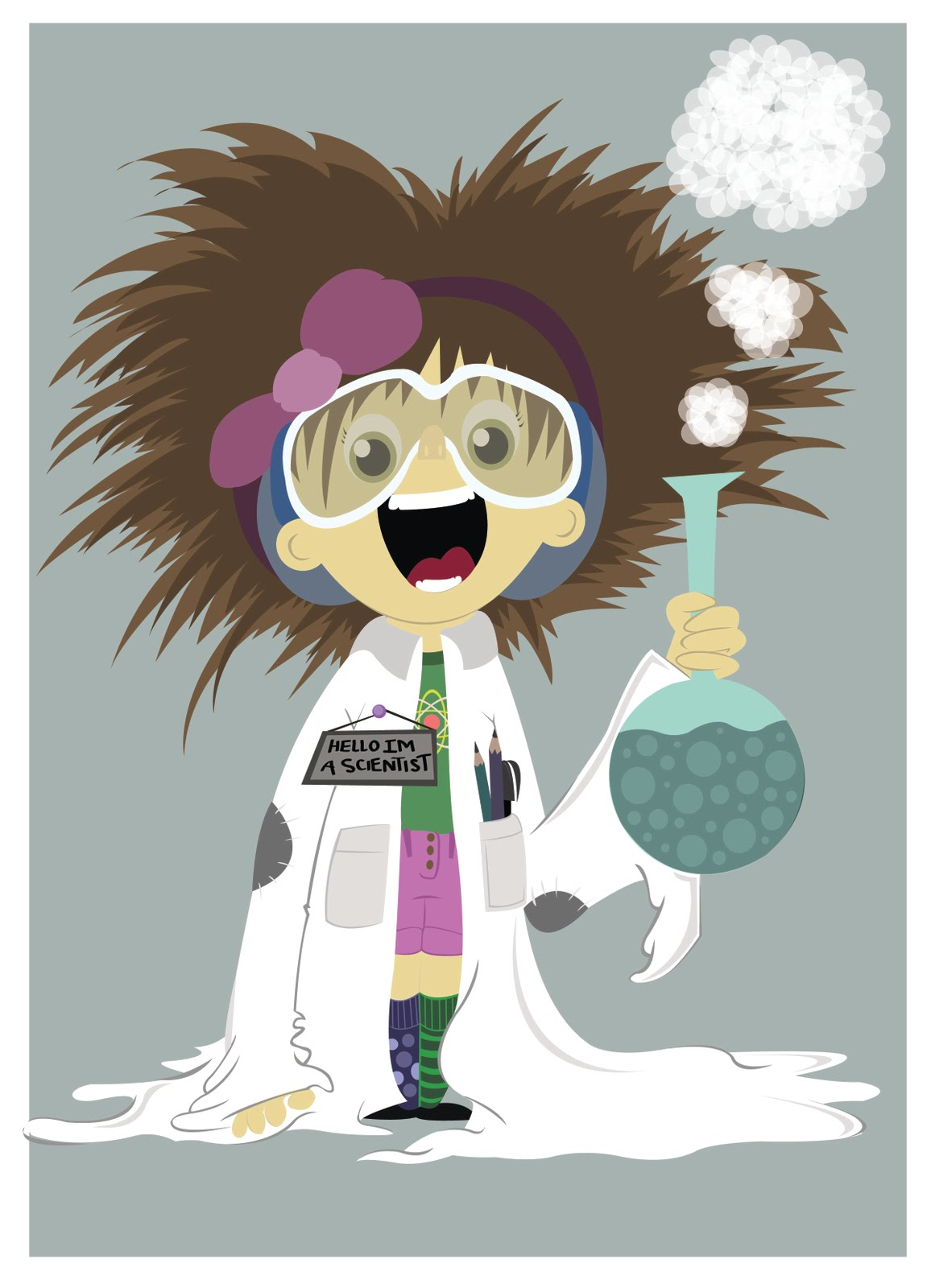 Woman clipart mad scientist #7