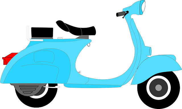 Scooter clipart Art Public to Free Clip