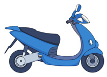 Scooter clipart Results 36 Kb Search for